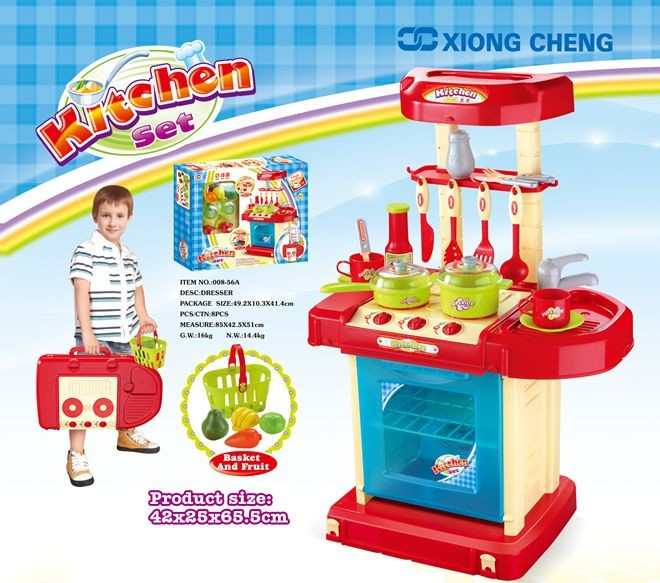 Girl toys kitchen sets for kids cooking set toys mini for Kitchen set 008 82