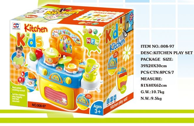 Baby kitchen set mini kitchen set play sets for kids for Kitchen set 008 82
