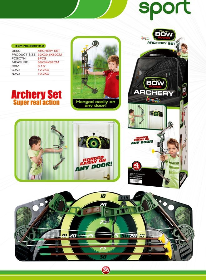 Archery set 35881R-2