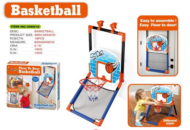 Portable basketball set 39881A
