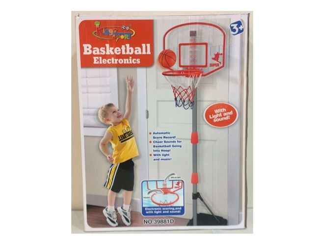 Portable basketball set 39881D