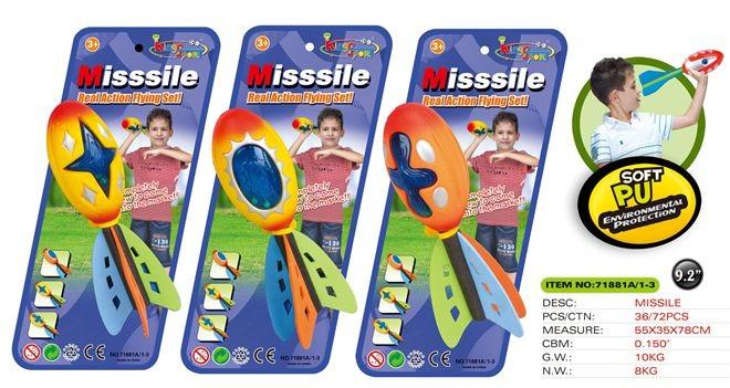 Missile set 71881A/1-3