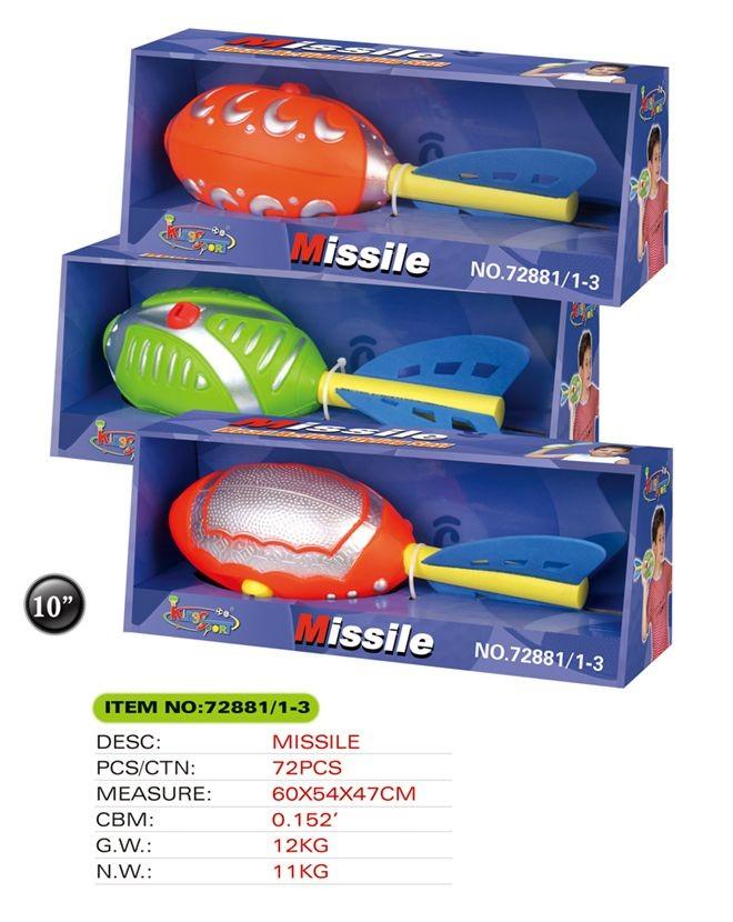 Missile set 72881/1-3