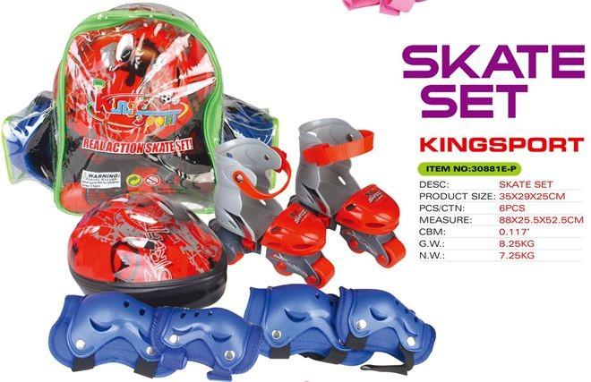 Skate set 30881E-P