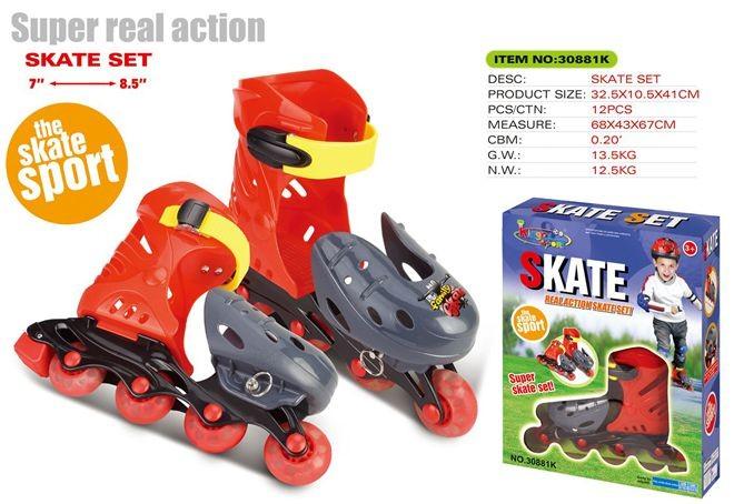 Skate set 30881K